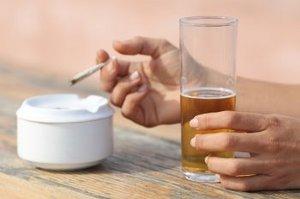 Gallen op alkohol nach Ernährung nach