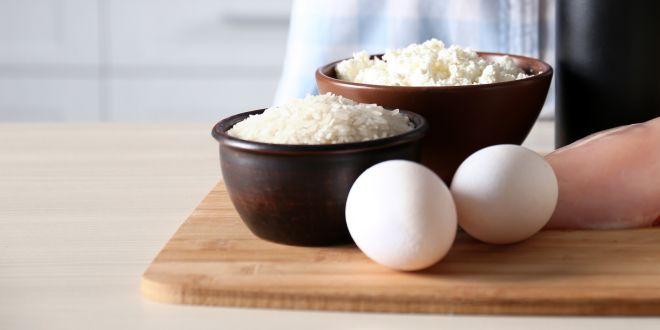 Eiweißgehalt Ei