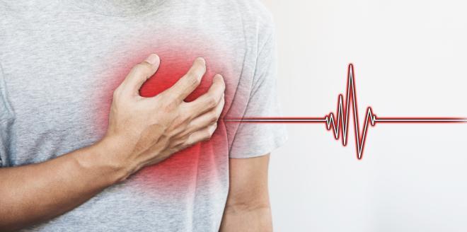 Herzstolpern nach dem Essen - Ist das gefährlich?