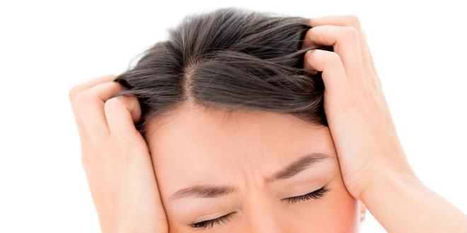 Schmerzende Kopfhaut