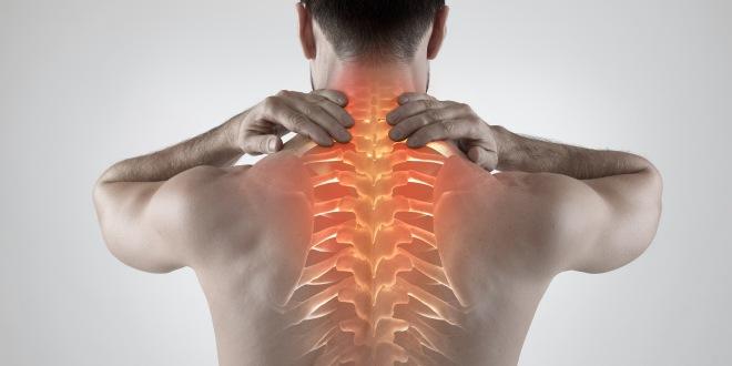 Brustwirbelblockade Thoracic spine