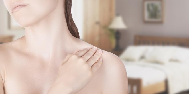 Schmerzen an Schulter und Nacken