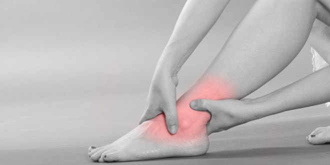 Sehnenentzündung im Bein