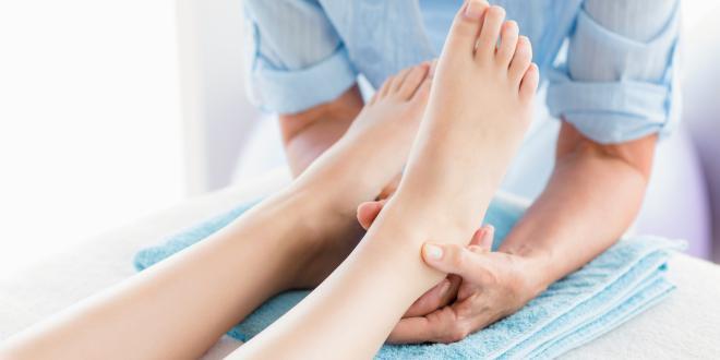 Schmerzen an der Unterseite des Fußes