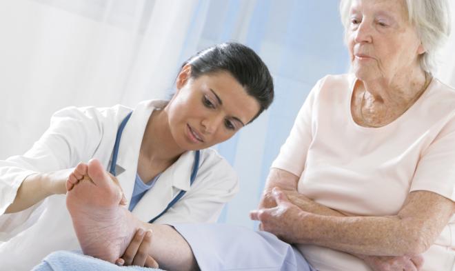 Schmerz im Nacken und Schluckbeschwerden - was hat der Patient?