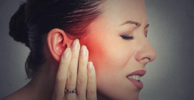Symptome eines Speichelsteins